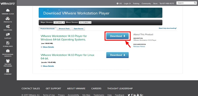 仮想マシン化「VMware Player」のインストール方法(32bit版も